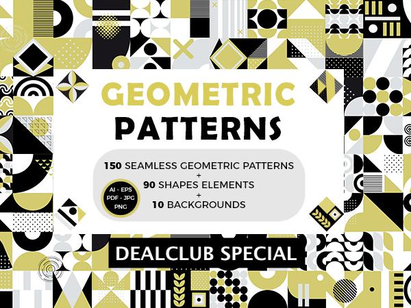 Seamless Geometric Patterns Feature Image