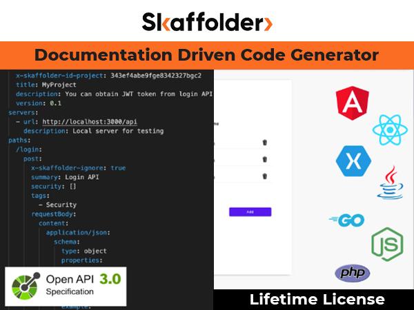 Skaffolder Document Driven Code Generator