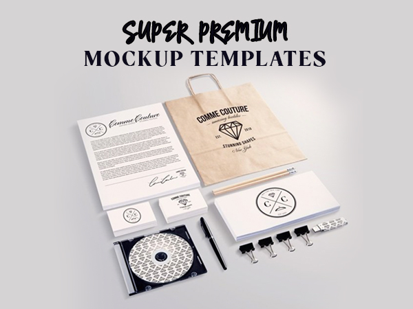 Super Premium Mockup Templates Freebie