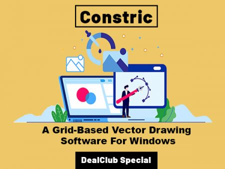 Constric - A Grid Based Vector Drawing Software For Windows | DealClub