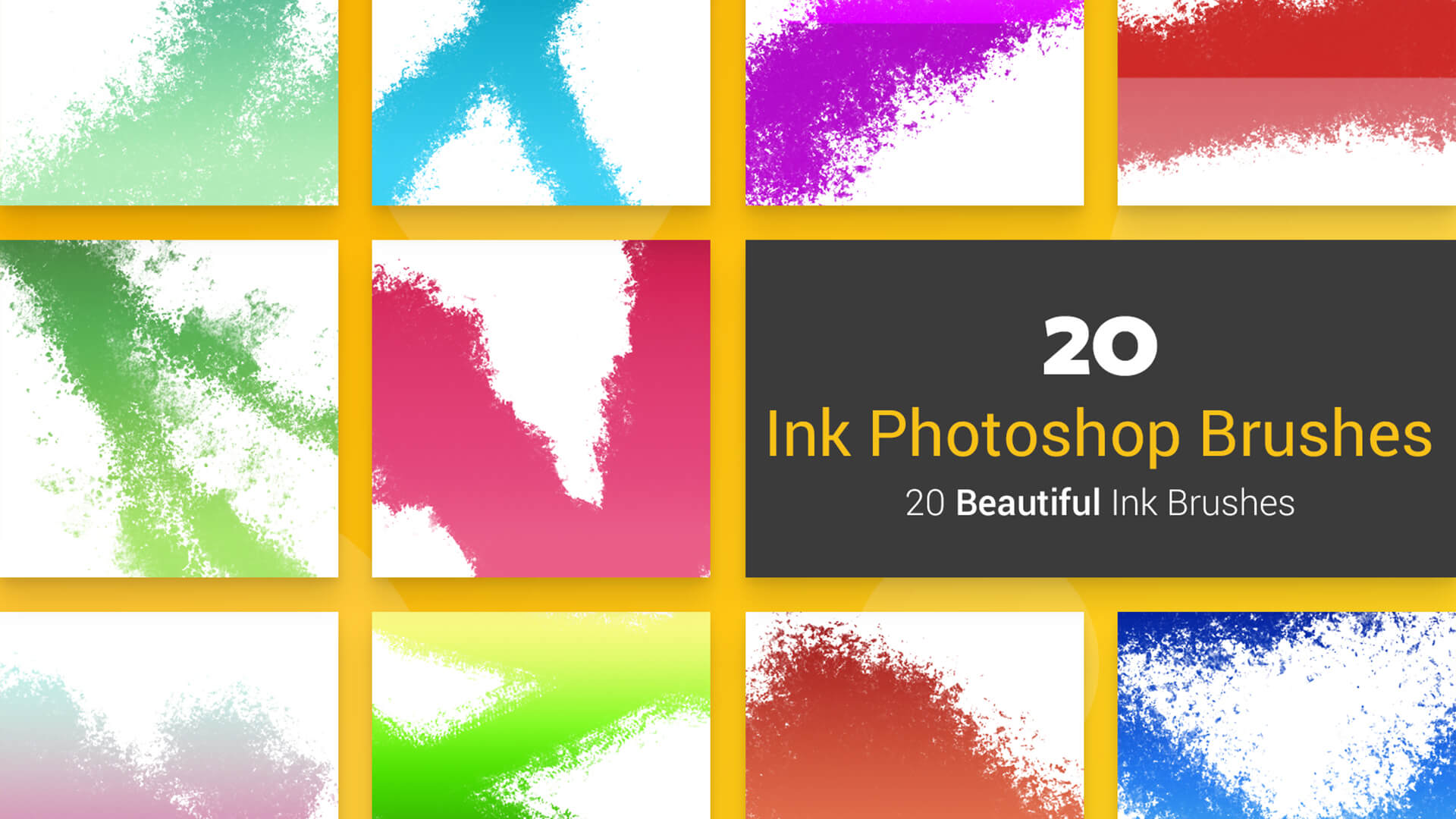 20 Ink PS Brushes