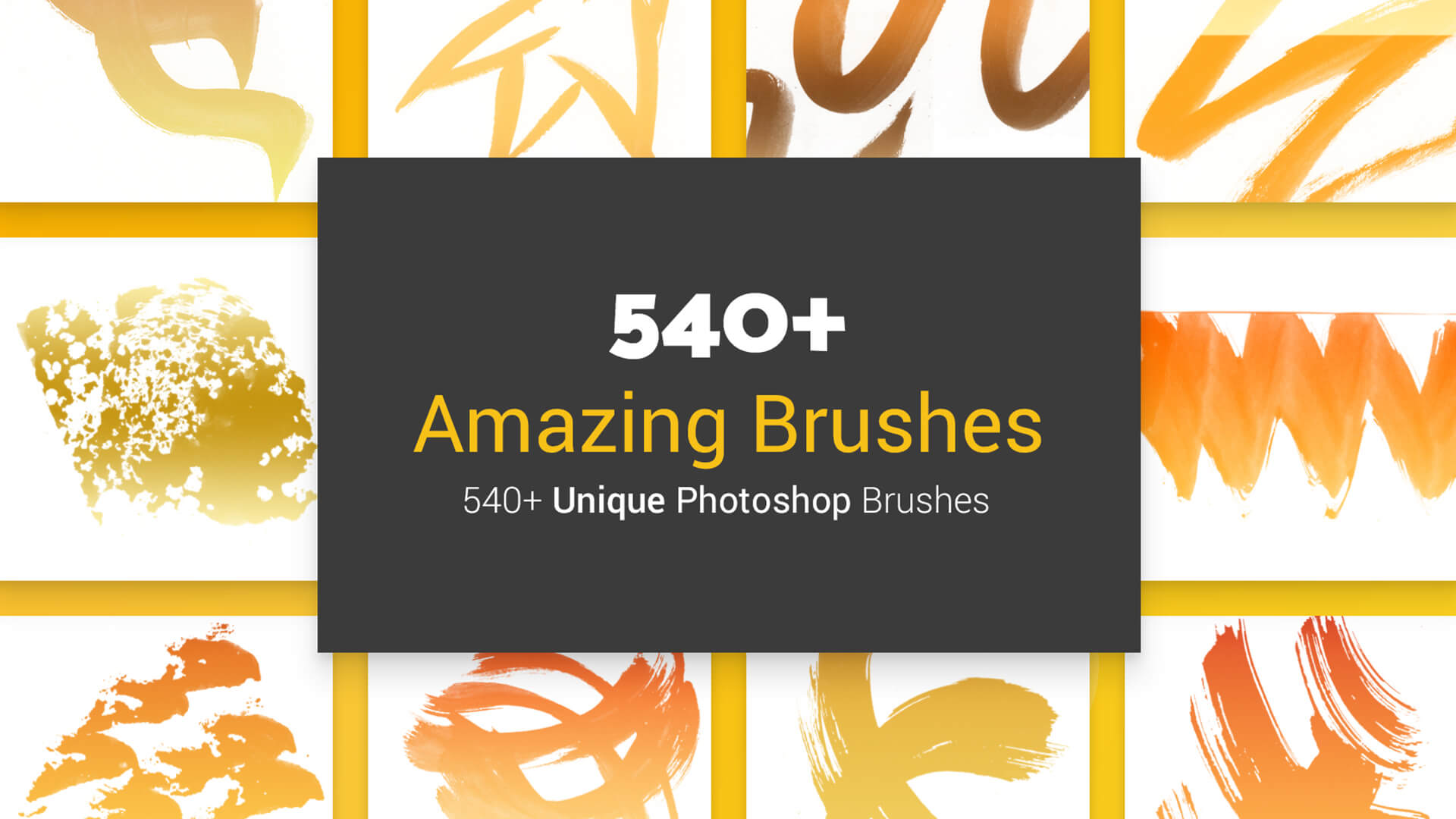 The Big Graphic Design Resources Bundle 540 Amazing Brushes