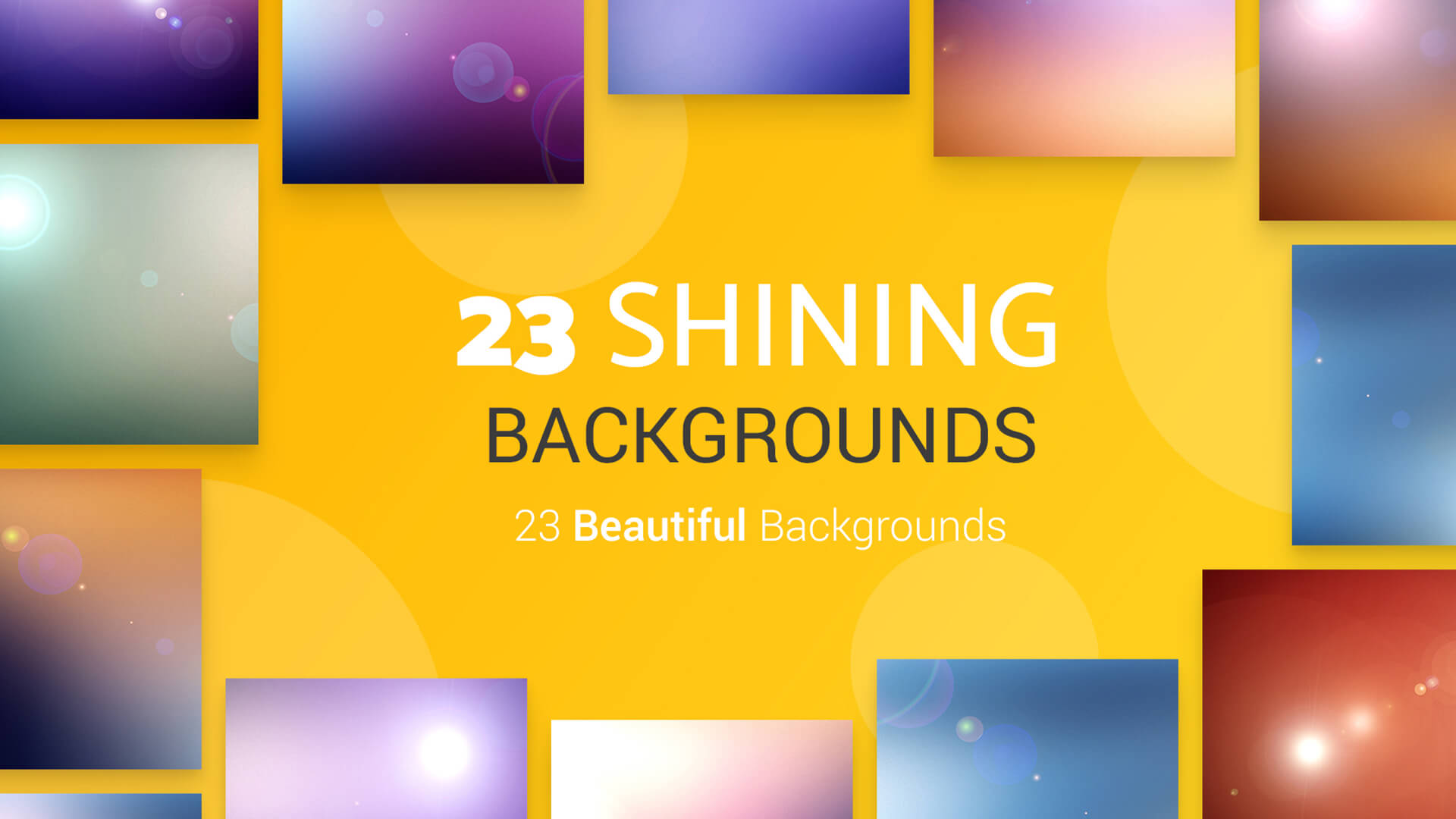 The Big Graphic Design Resources Bundle - 2 Shining BG