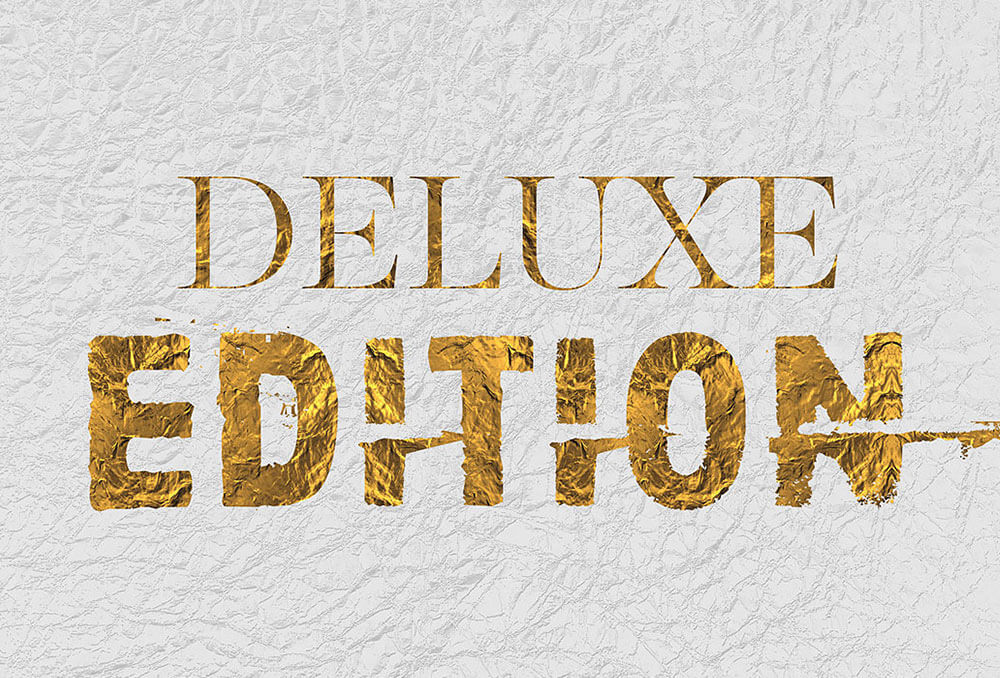Golden Foil Text Effects 1
