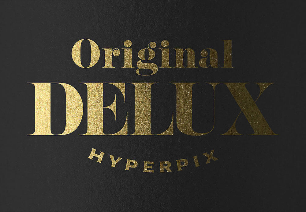 Gold Text Effects Vol. 3