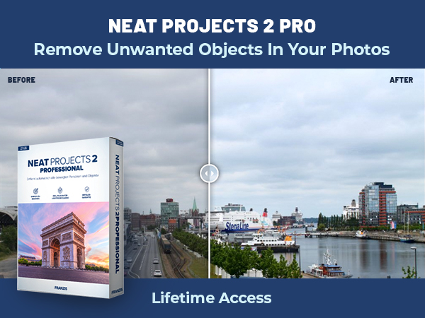 Remove Unwanted Objects In Your Photos Using NEAT Projects 2 PRO | Lifetime