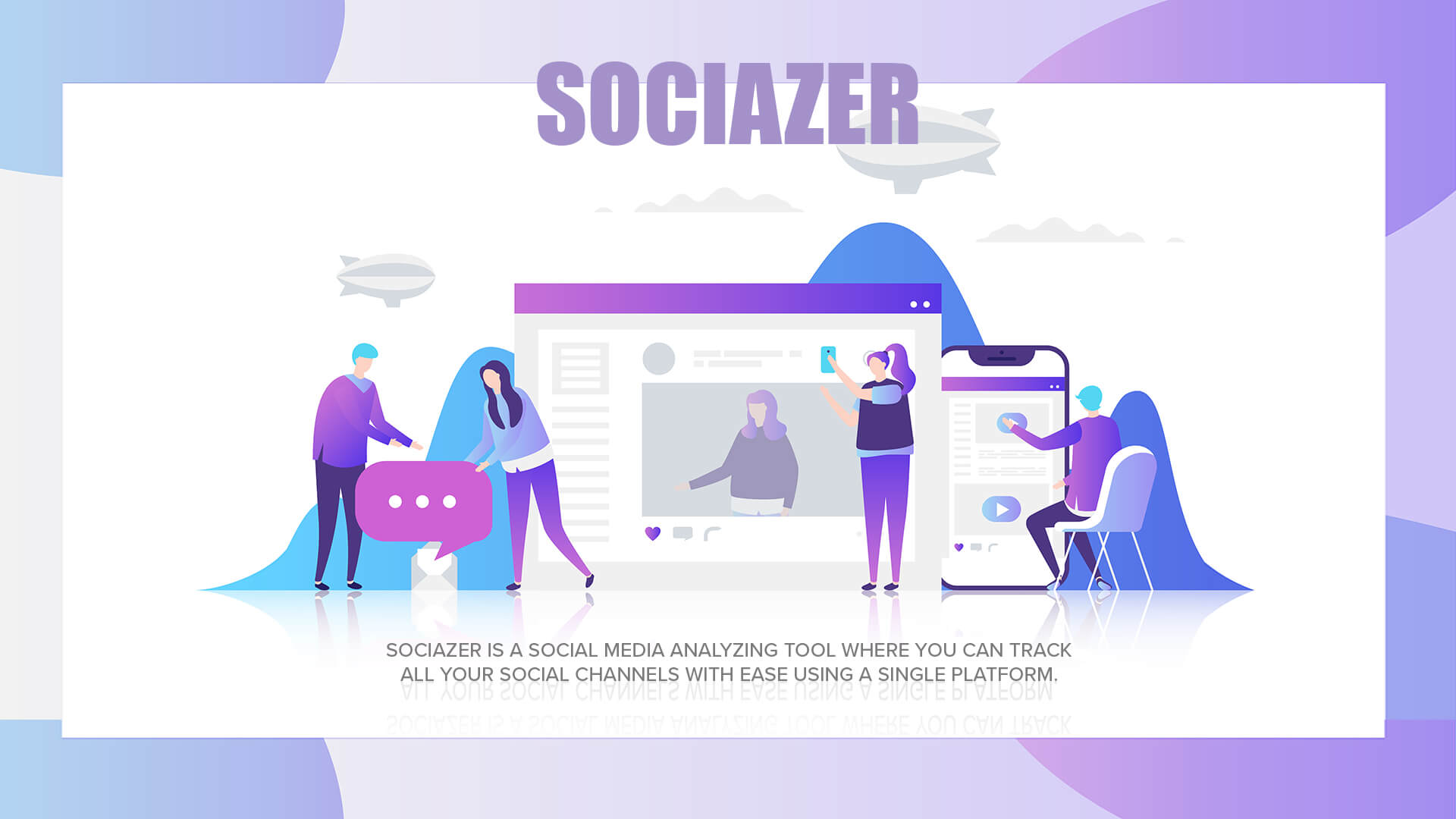 Sociazer Social Analysing & Tracking Tool - Hero Image 1