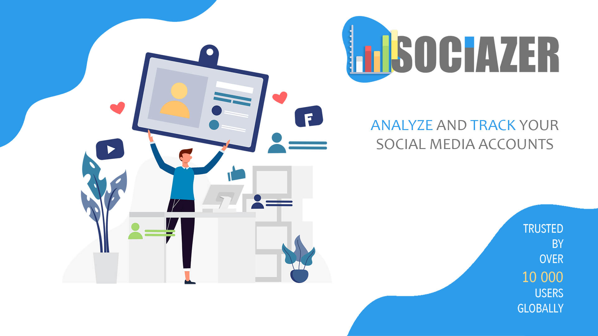 Sociazer Social Analysing & Tracking Tool - HERO Image 2