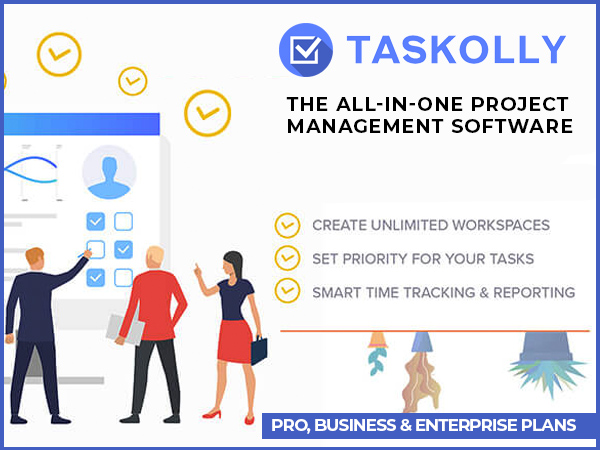 Taskolly - The All-In-One Project Management Software [Available In 3 Plans]