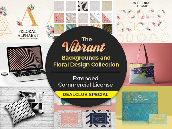 The Vibrant Backgrounds and Floral Design Collection | DealClub