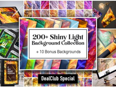 200+ Shiny Backgrounds Collection + 10 Bonus Backgrounds | Lifetime Access