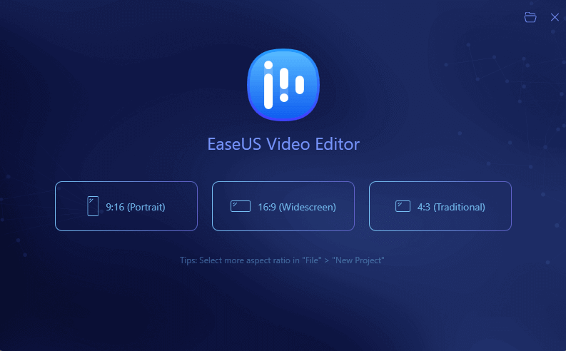 EaseUS Video Editor For Windows