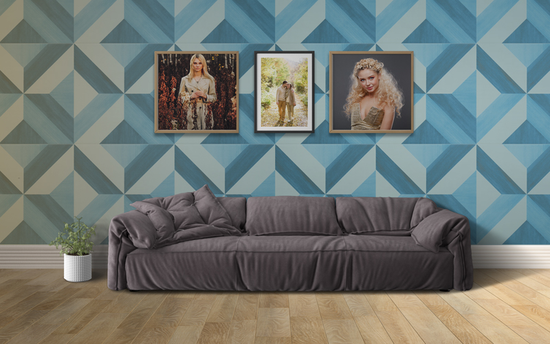 Premium Wall Frames and Interiors pack