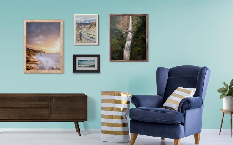 Cool Mint Wall Interiors