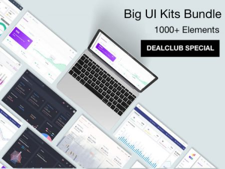 Big UI Kits Bundle Deal Feature Image