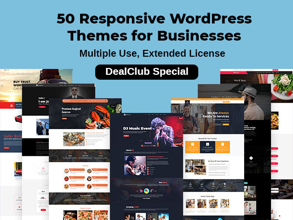Responsive WordPress Themes For Businesses
