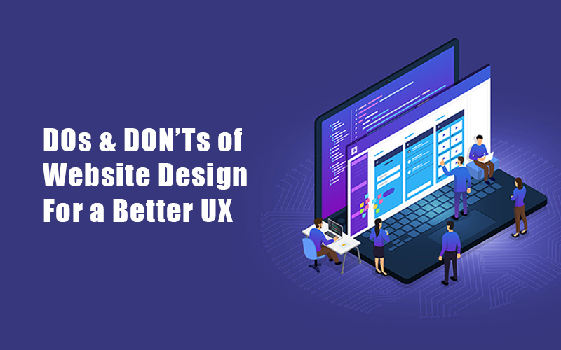 Dos and Don'ts of Website Design Blog