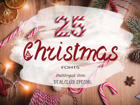 Christmas Fonts Bundle