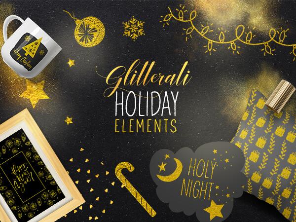 FREE Christmas Photo Elements.