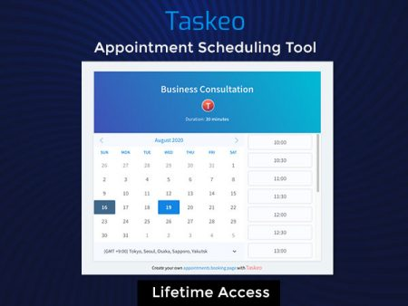 Taskeo Appointment Scheduling tool