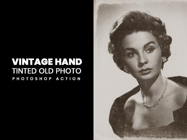 Vinatage-Hand