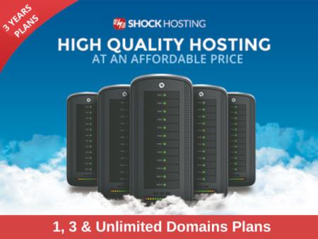 Shock Hosting - High Quality Hosting Plans
