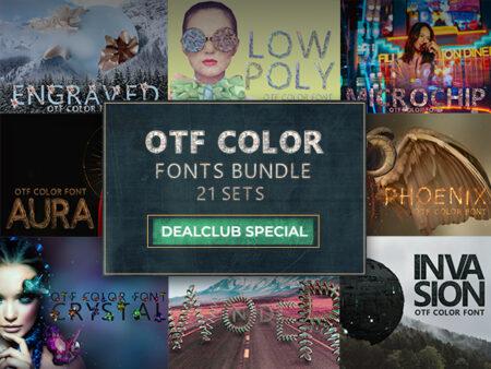 OTF Color Fonts Bundle Feature Image