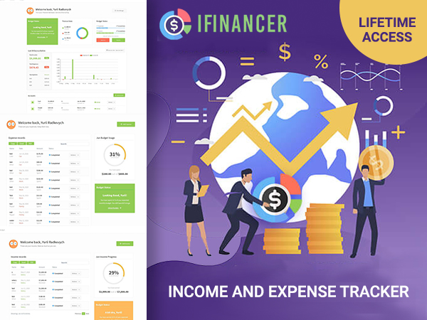 iFinancer Income and Expense Tracker
