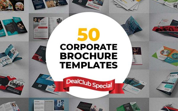 50 Corporate Brochure Templates For Every Business