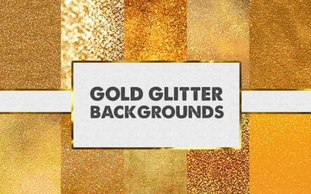 Gold Glitter Backgrounds