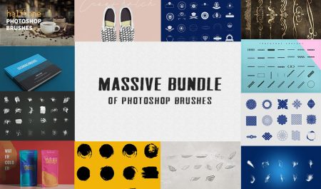5000+ Photoshop Brushes Bundle From Inventicons