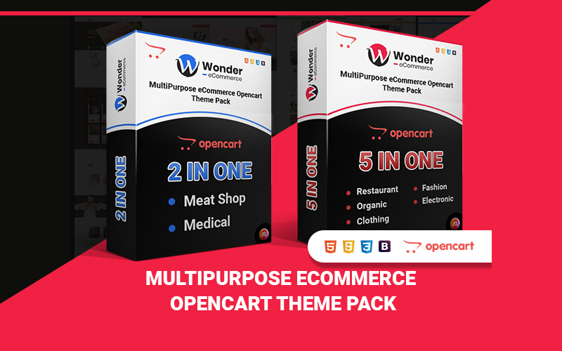 Wondershop Ecommerce OpenCart Themes Pack