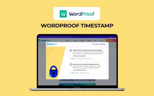 WordProof Timestamp Tool