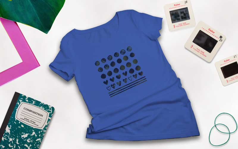 Tshirt design preview