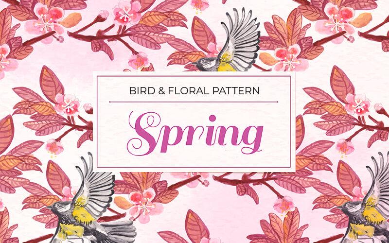 Beautiful Bird Pattern