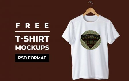 Free Tshirt Mockups - Feature Image