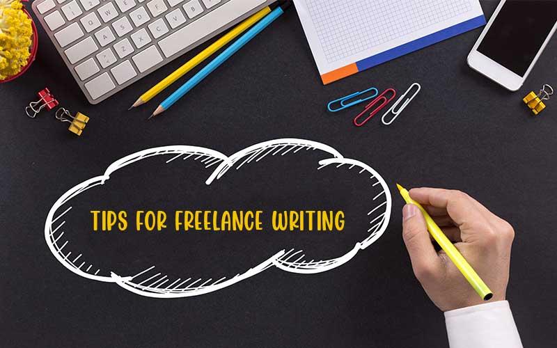 Freelance Writing Tips Blog Feature Image