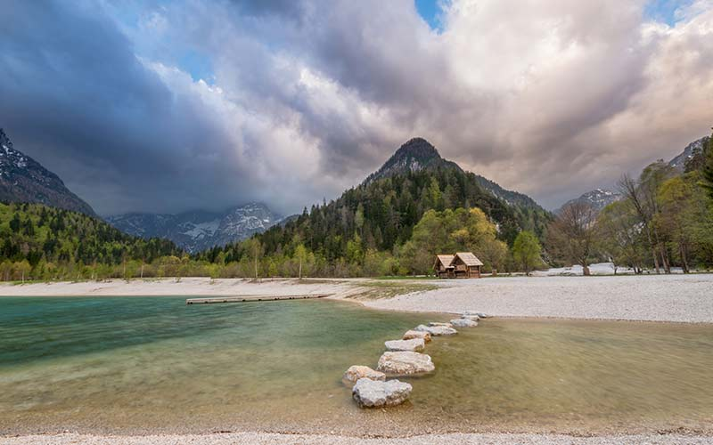 Mountain View Background