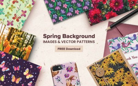 Spring Background Images Feature