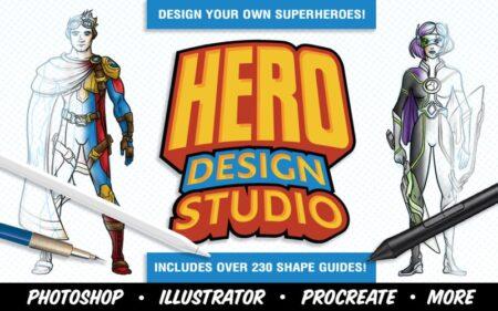 Hero Design Studio- superhero drawing
