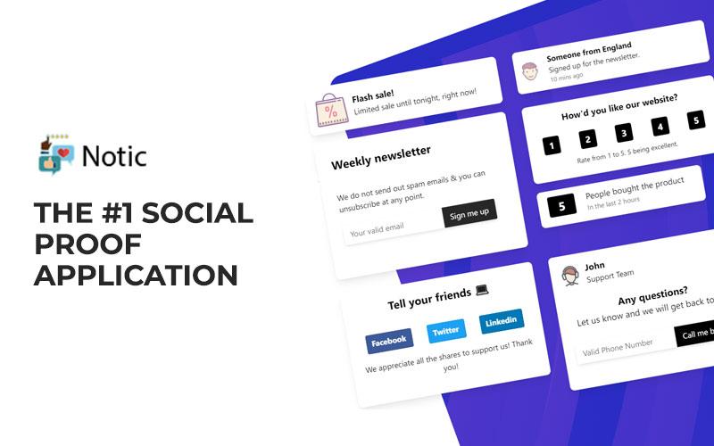 Social Proof Application