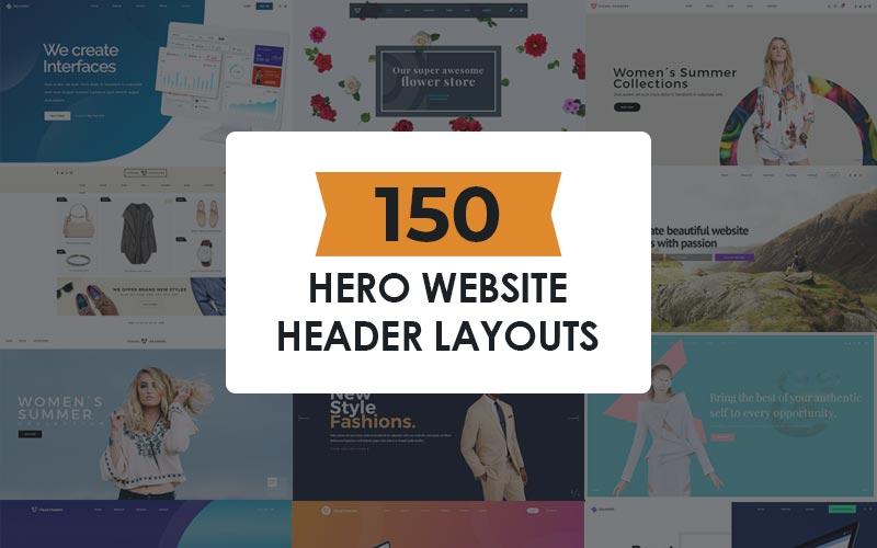 150 hero website headers
