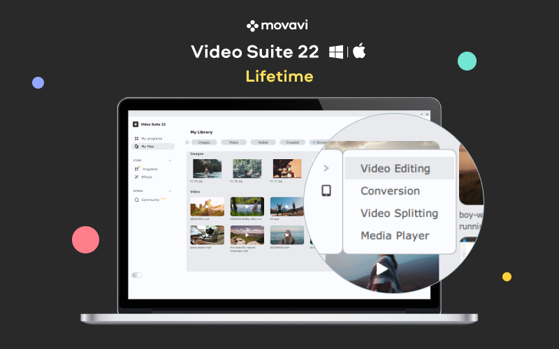 Deal Fuel Deal for Movavi Video Suite 22 For Windows & Mac | Lifetime Access