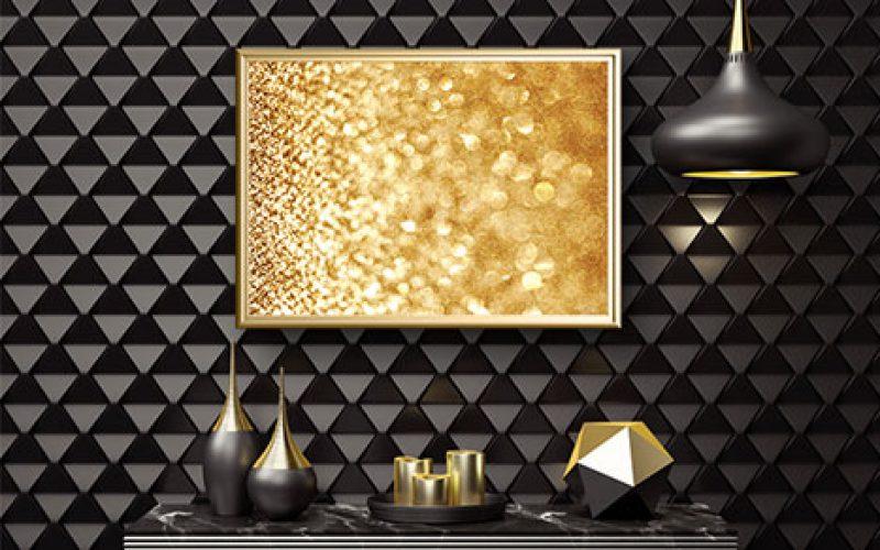 gold background mockup